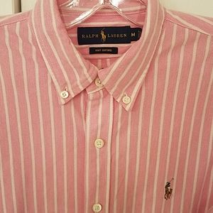 Mens Ralph Lauren M Button down long sleeve shirt